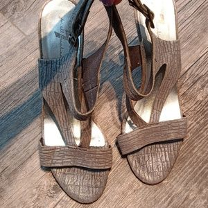 7   for all Mankind  wedge sandals